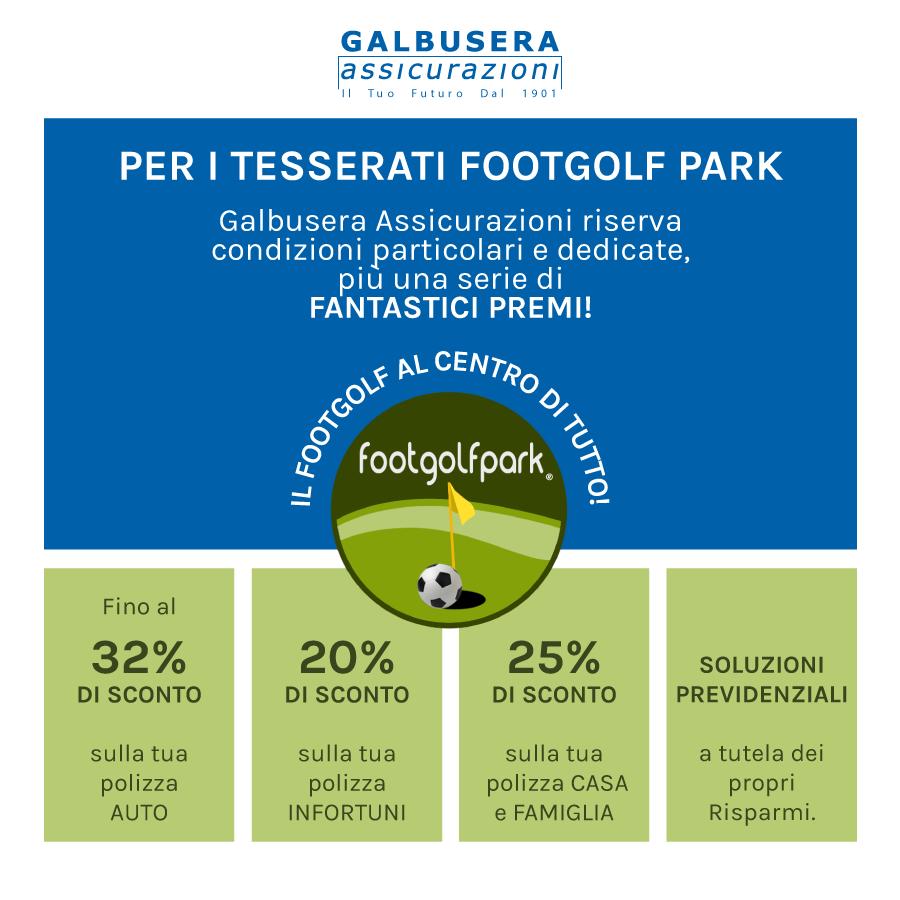 Convenzione Galbusera Assicurazioni – Footgolf Park