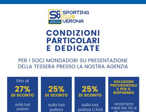 Convenzione Galbusera Assicurazioni – Sporting Club Verona