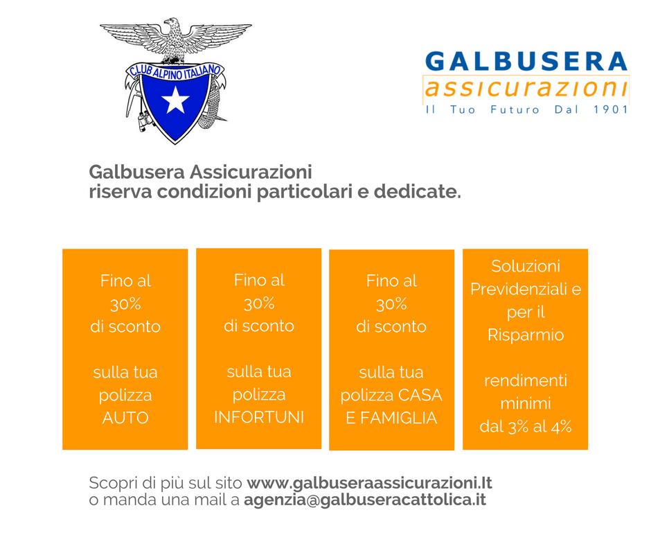 Convenzioni Galbusera Assicurazioni – C.A.I. sezione Cesare Battisti Verona